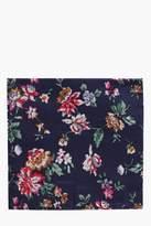 boohoo Floral Pocket Square