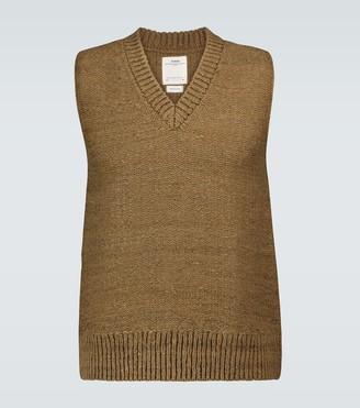 Visvim Tussard V-neck sweater vest