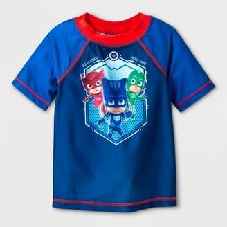 PJ Masks Toddler Boys' PJ Masks Rash Guard - Blue 2T