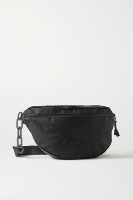 Alexander Wang Attica Embroidered Canvas Backpack - Black