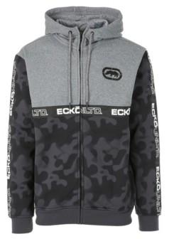 Ecko Unlimited Unltd Men's Spray Camo Printed Full Zip Hoodie