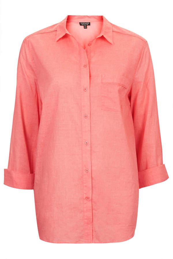 Topshop Casual cotton shirt
