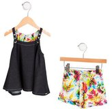 Jean Paul Gaultier Girls' Shorts Set w/ Tags