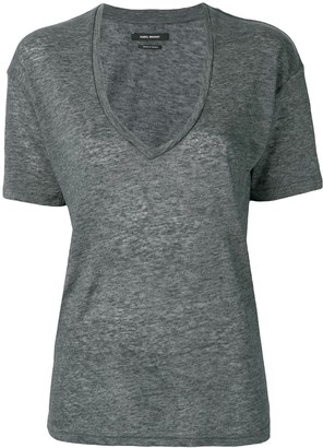 Isabel Marant deep v-neck T-shirt