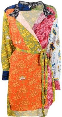 Loewe wrap front dress