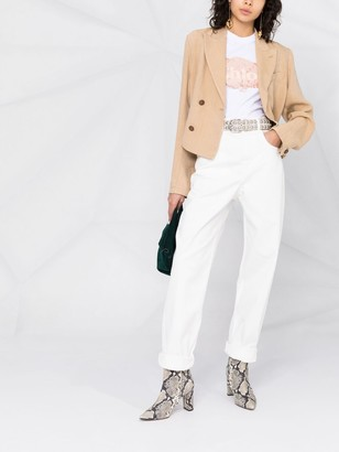 Etoile Isabel Marant High-Waisted Boyfriend Fit Jeans