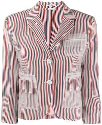 Thom Browne RBW stripe blazer