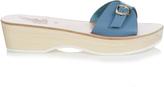 Ancient Greek Sandals Filla Sabot leather flatform sandals