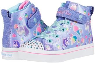 Skechers Twinkle Toes - Twi-Lites 2.0 314420L (Little Kid) (Light Blue/Multi) Girl's Shoes