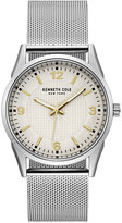 Kenneth Cole New York Men's Stainless Steel Mesh Bracelet Watch 40mm 10030781