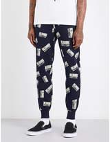 Billionaire Boys Club Logo-print Cotton-jersey Jogging Bottoms