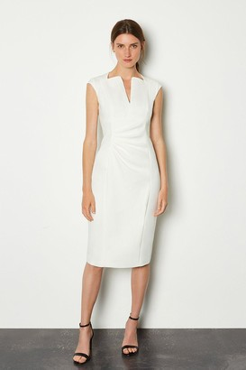Karen Millen Envelope Neck Dress