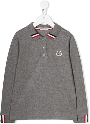 Moncler Enfant Logo Polo Shirt