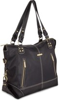 Timi & Leslie 'Kate' Faux Leather Diaper Bag