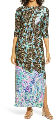 Lilly Pulitzer ChillyLilly Seraline UPF 50+ Maxi Dress