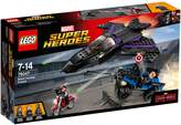 Lego Marvel Captain America Black Panther Pur