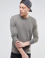 Asos Crew Neck Sweater in Cotton