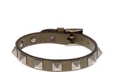 Valentino Rockstud leather bracelet