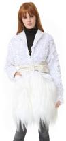 Rodarte White Coat