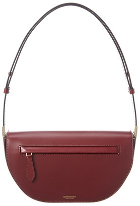 Burberry Small Olympia Leather Shoulder Bag