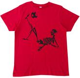 Micro Me Red Soccer Skeleton Tee - Infant Toddler & Boys
