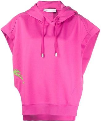 Fenty Beyond Limits print short-sleeve hoodie