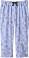 Joe Fresh Women's Heart Crop Sleep Pant, Print 1 (Size S)