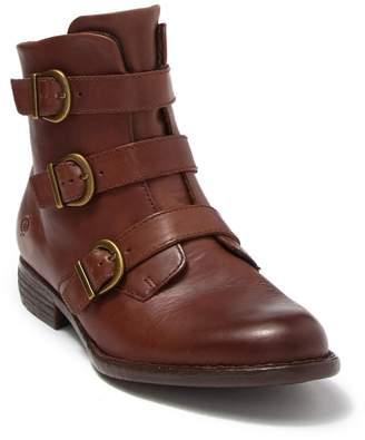 Børn Nivine Leather Buckle Boot