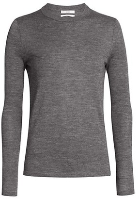 Co Essentials Marled Cashmere Long-Sleeve Shirt