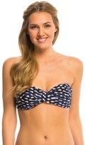 Robin Piccone Audrey Twist Bandeau Bikini Top 8143277