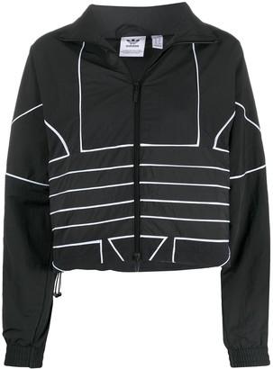 adidas Cropped Logo Jacket