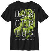 Fifth Sun Boys' Tee Shirts BLACK - Black 'Dangerous' Jurassic World Tee - Boys