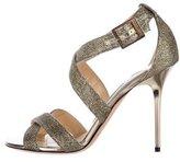 Jimmy Choo Lottie Glitter Sandals