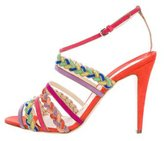 Brian Atwood Suede Altair Sandals