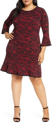 MICHAEL Michael Kors Glam Lace Sheath Dress