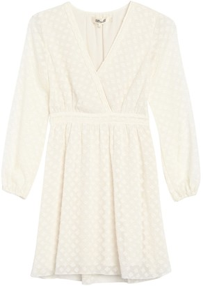 Diane von Furstenberg Celia Surpice Faux Wrap Dress