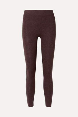 We/Me - The Synergy Stretch-jersey Leggings - Burgundy