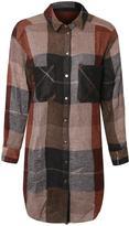 Dex Plaid Button Tunic