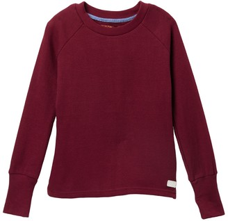 7 For All Mankind Long Sleeve Raglan Thermal (Big Girls)