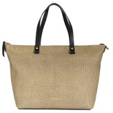 Borbonese Women's Brown Polyester Tote.