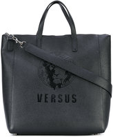 Versus embossed logo tote - women - Artificial Leather - One Size
