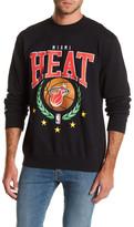 Mitchell & Ness NBA Heat Fleece Crew Neck Sweater