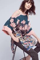 Maeve Kae Open-Shoulder Kimono Top