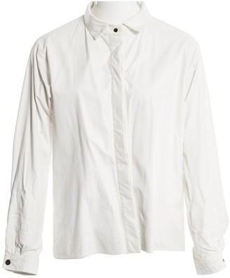 Anthony Vaccarello White Leather Jackets