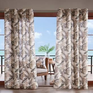 Madison Home USA Meeru 3M Scotchgard Outdoor Window Curtain