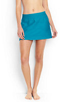 Classic Women's Texture SwimMini Swim Skirt-Calypso Blue
