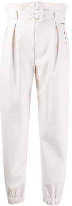Liu Jo Tapered Belted Trousers