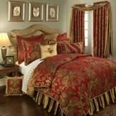 Bed Bath & Beyond Austin Horn Classics Verona 4-Piece Queen Comforter Set in Red