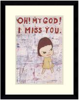 Amanti art ''Oh My God I Miss You'' Framed Wall Art
