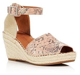 Kenneth Cole Gentle Souls By Gentle Souls Women's Charli Espadrille Wedge Sandals